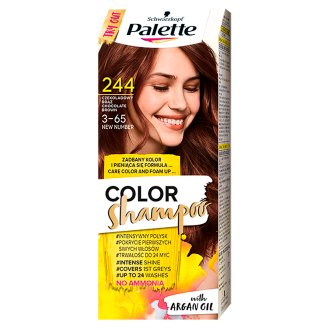 Palette Color Shampoo Szampon koloryzujący Czekoladowy brąz 244
