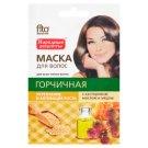 Fitocosmetic Maska do włosów gorczycowa z olejkiem rycynowym i miodem 30 ml