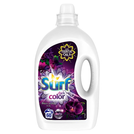 Surf Dark Color Black Orchid & Lily Żel do prania 3 l (60 prań)