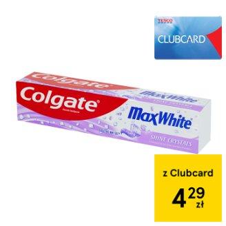 Colgate Max White Kusząca mięta-żel Pasta z fluorem 125 ml