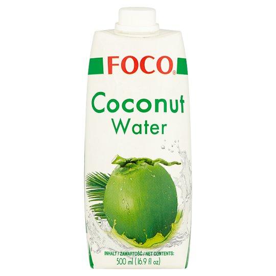 Foco Woda kokosowa 500 ml