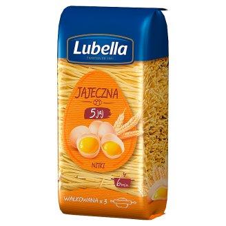 Lubella Jajeczna 5 jaj Makaron nitki 250 g