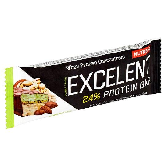 Nutrend Excelent Paluszek proteinowy smak migdałowo-pistacjowy z pistacjami 40 g