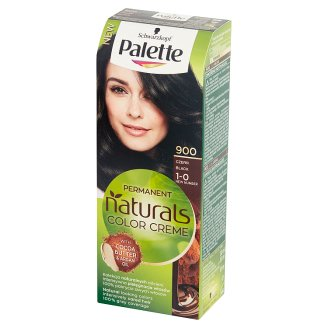 Palette Permanent Natural Colors Creme Farba do włosów Czerń 900