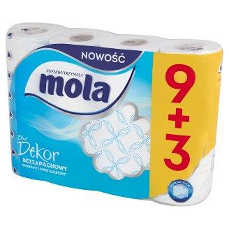 Mola Blue Dekor Toilet Paper 12 Rolls
