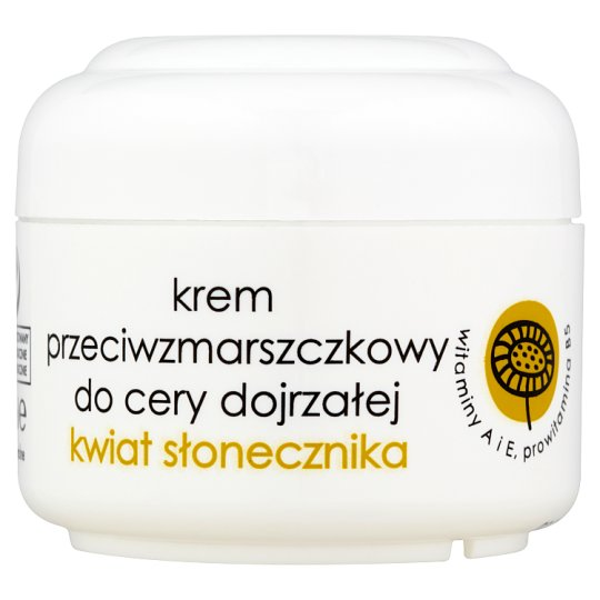 Ziaja Sunflower Anti-Wrinkle Cream for Mature Skin 50 ml
