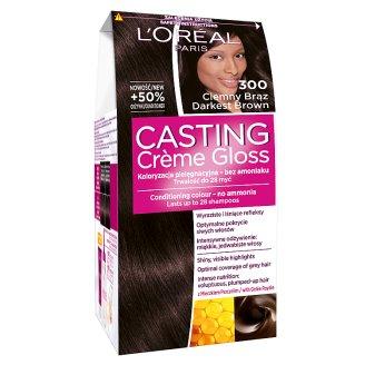 L'Oreal Paris Casting Creme Gloss Farba do włosów 300 ciemny brąz
