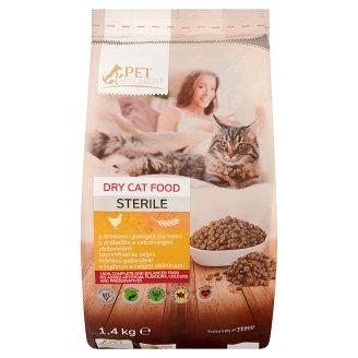 Tesco Pet Specialist Karma dla dorosłych sterylizowanych kotów z drobiem i pełnymi ziarnami 1,4 kg