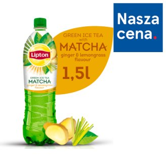 Lipton Ice Tea Green Matcha ginger & lemongrass Napój niegazowany 1,5 l