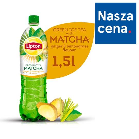 Lipton Ice Tea Green Matcha Ginger & Lemongrass Flavour Drink 1.5 L