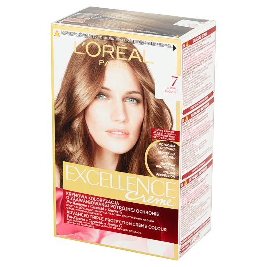 L'Oréal Paris Excellence Creme Hair Colorant Blonde 7