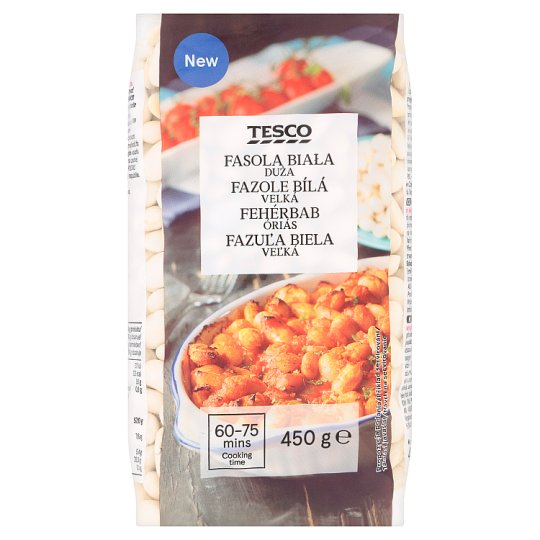 Tesco Giant White Beans 450 g