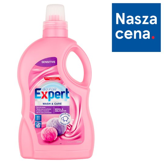 Go for Expert Wool & Delicates Wash & Care 2 L (33 Washes)