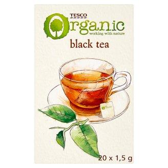 Tesco Organic BIO Herbata czarna 30 g (20 sztuk)