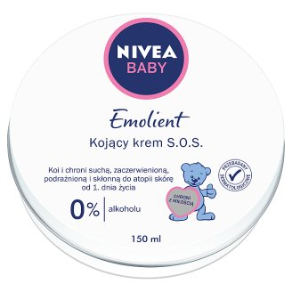 NIVEA Baby Pure & Sensitive Emolient Krem S.O.S. 150 ml