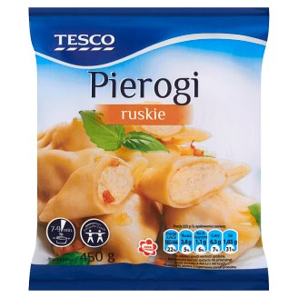 Tesco Dumplings with Mixture of Potatoes and Cottage Cheese 450 g