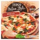 Tesco Italian Style Pizza Pollo 320 g