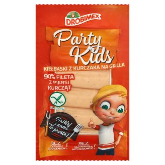 Drobimex Party Kids Chicken Sausage for Grill 180 g