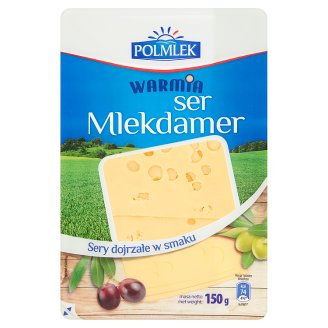 Warmia Ser Mlekdamer plastry 150 g