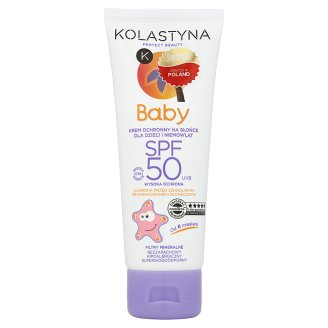 Kolastyna Baby Sun Protection Cream for Children and Babies from 6 Months Onwards SPF 50 75 ml