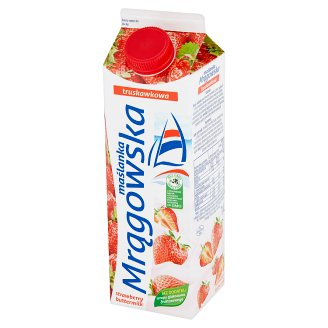 Mlekpol Strawberry Mrągowska Buttermilk 1 L