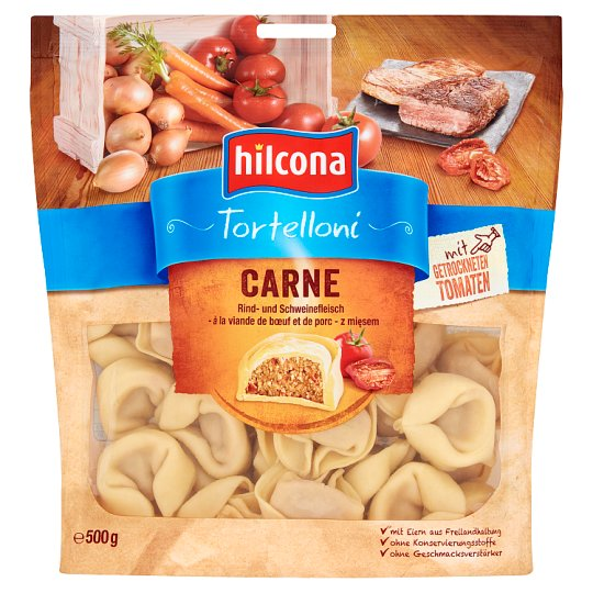 Hilcona Tortelloni with Meat 500 g
