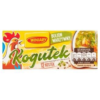 Winiary Kogutek Vegetable Stock Cubes 108 g (12 Cubes)