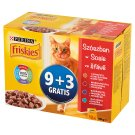 Friskies in Gravy Complete Cat Food 1200 g (12 Pieces)