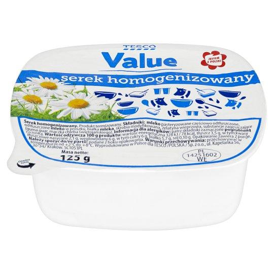 Tesco Value Fromage Frais 125 g