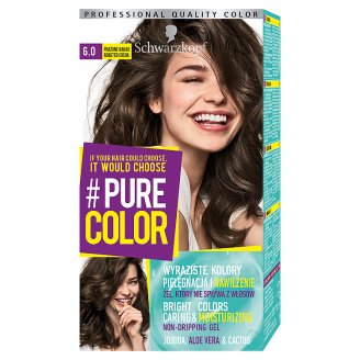 Schwarzkopf #Pure Color Hair Colorant Roasted Cocoa 6.0