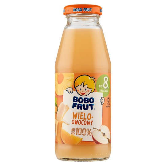 Bobo Frut Multifruit after 8 Months Onwards 100% Juice 300 ml