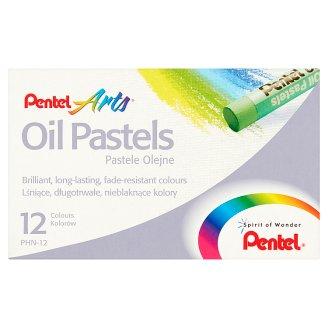 Pentel Arts Pastele olejne 12 kolorów