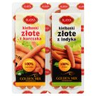 Sława Golden Mix Golden Chicken Sausage 200 g and Golden Turkey Sausage 200 g