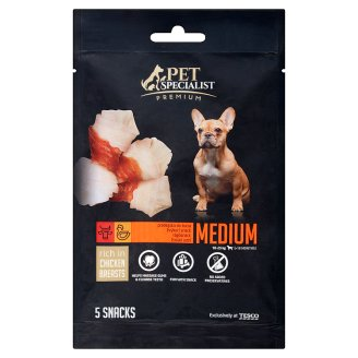 Tesco Pet Specialist Premium Supplementary Food for Adult Dogs with Chicken 70 g (5 Pieces)