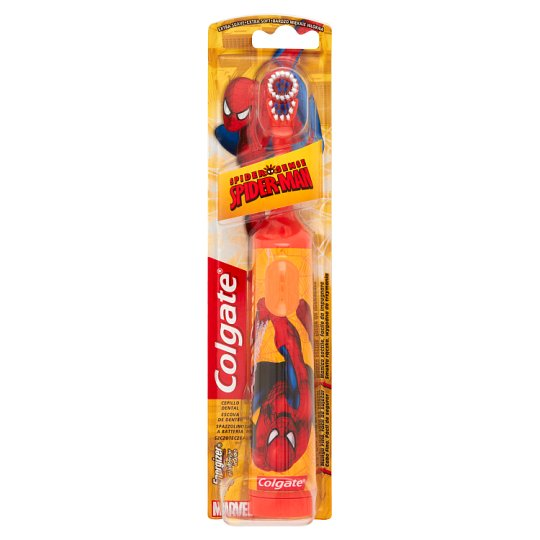 Colgate Spider Sense Spider-Man Extra Soft Electric Toothbrush