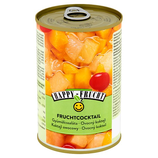 HAPPY FRUCHT Fruit Cocktail 410 g