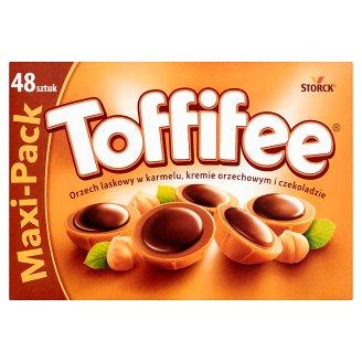 Toffifee Orzech laskowy w karmelu kremie orzechowym i czekoladzie 400 g (48 sztuk)