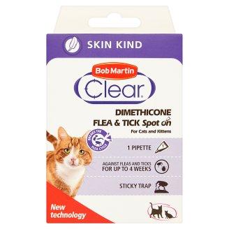 Bob Martin Clear Dimethicone Preparat dla kotów i kociąt powyżej 3 miesiąca życia