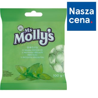Ms Molly's Peppermint Flavoured Drops 100 g