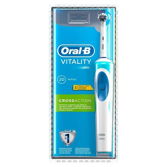 Oral-B Vitality CrossAction Akumulatorowa szczoteczka elektryczna do zębów, 1 sztuka