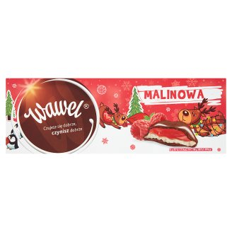 Wawel Raspberry Milk Chocolate with Filling 300 g