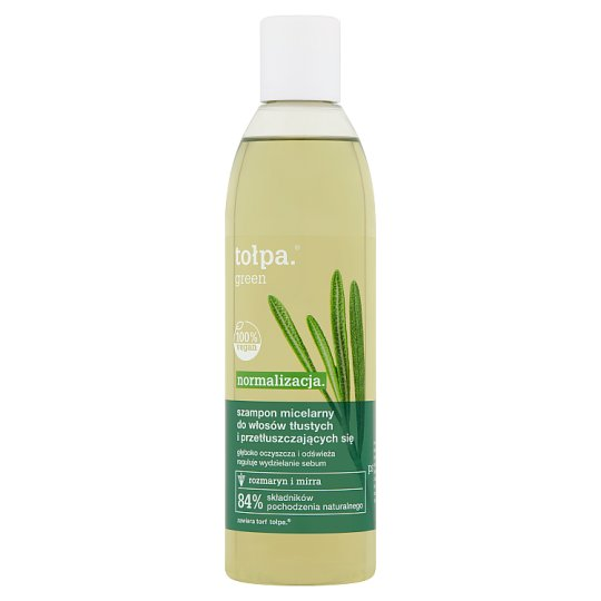 tołpa Green Normalizing Shampoo for Greasy Hair 300 ml