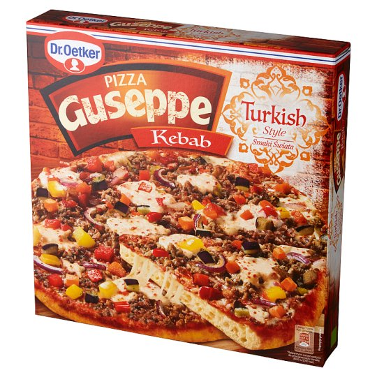 Dr. Oetker Guseppe Smaki Świata Pizza Kebab 420 g