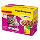 Whiskas Selection of Poultry Dishes in Gravy Complete Cat Food 1+ Years 1.2 kg (12 Sachets)