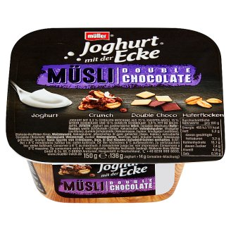 Müller Yogurt with Muesli and Double Chocolate 150 g