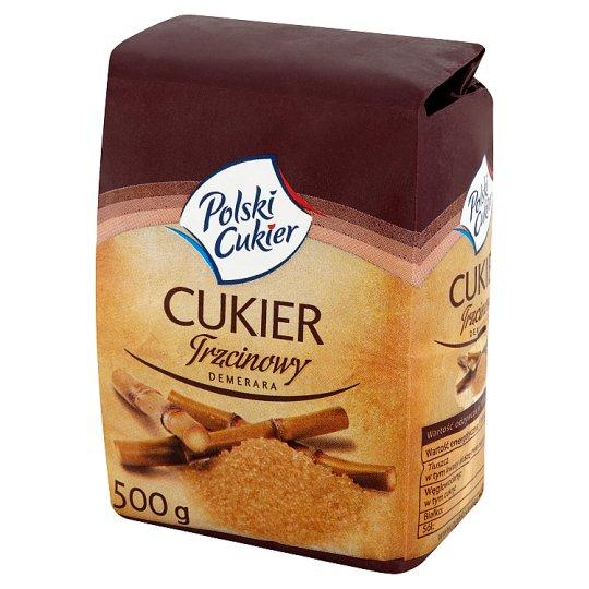 Polski Cukier Demerara Cane Sugar 500 g