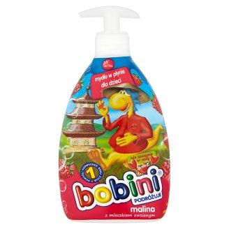 Bobini Mydło w płynie dla dzieci malina z mleczkiem owsianym 400 ml