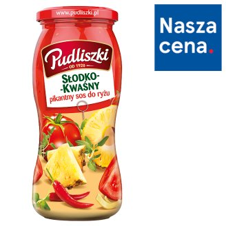 Pudliszki Hot Sweet-Sour Sauce 500 g