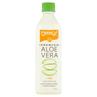 Qeency Premium Aloe Vera Napój aloesowy + liczi 500 ml