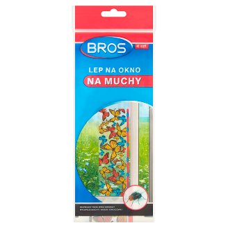 Bros Window Anti Flies Stick 4 Pieces